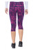 Nike Epic Run Printed Capri Women vivid pink/midnight navy